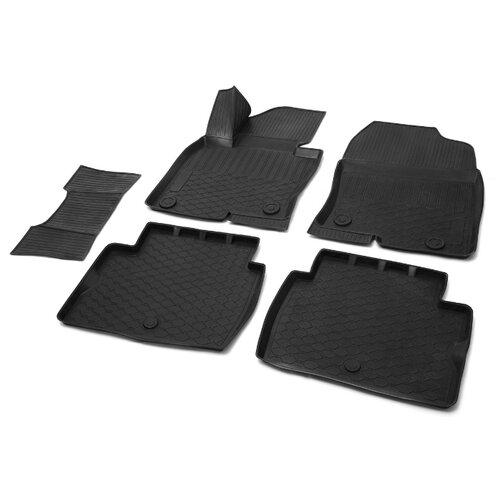 Комплект ковриков RIVAL 13803004 Mazda CX-5 5 шт. черный