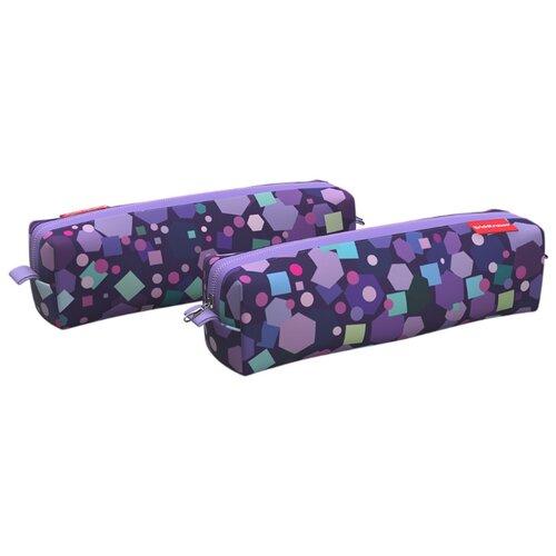 Купить ErichKrause Пенал квадро mini Candy (48948) фиолетовый, Пеналы