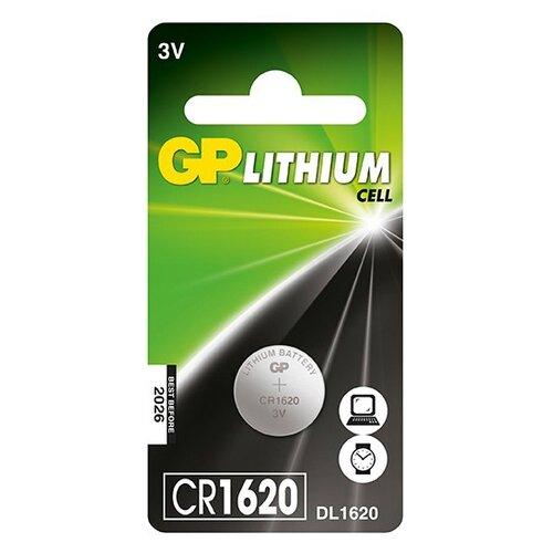 Купить Батарейка GP Lithium Cell CR1620 1 шт блистер
