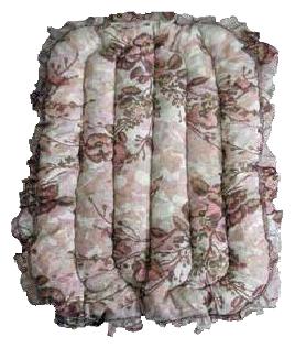 Лежак для собак Dogman Эконом 6 79х51х4 см