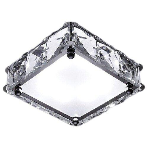 Встраиваемый светильник Ambrella light S50 CH/W встраиваемый светильник ambrella light d4180 big ch w