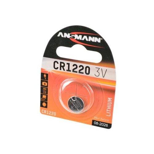 Батарейка ANSMANN CR1220 1 шт блистер батарейка ansmann cr2025 1 шт блистер