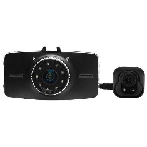 Видеорегистратор Bluesonic BS-B100, 2 камеры черный