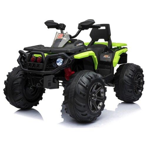 Купить RiverToys Квадроцикл К111КК, зеленый, Электромобили