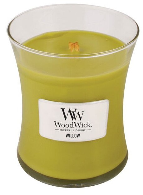 Свеча WoodWick Willow (92375), средняя