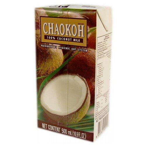 Молоко кокосовое Chaokoh 100% coconut milk 500 мл