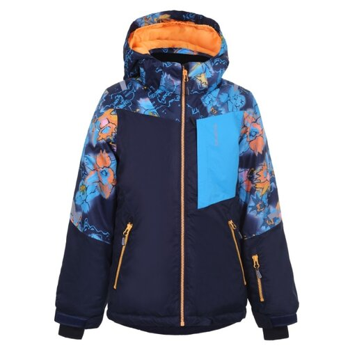 Куртка ICEPEAK размер 140, темно-синий пуховик женский icepeak цвет темно синий 253053532iv размер 46 52