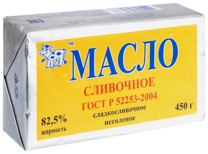 НЕВА МИЛК Масло сливочное 82.5%, 450 г