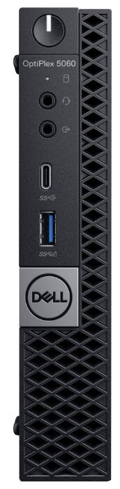 ПК Dell Optiplex 5060 Micro i5 8500T (2.1)/8Gb/1Tb 7.2k/UHDG 630/Windows 10 Professional/GbitEth/90W/клавиатура/мышь/черный