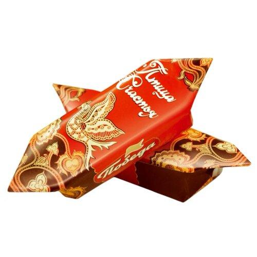 Конфеты Победа вкуса Птица счастья вафельные с начинкой из тертого миндаля в сливочном шоколаде, коробка 1500 г