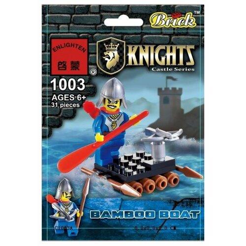 Конструктор Qman Knights 1003 Бамбуковый плот