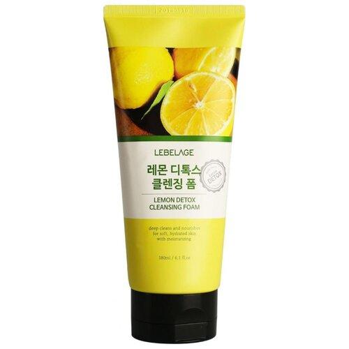 Купить Lebelage детокс-пенка для умывания с лимоном, 180 мл