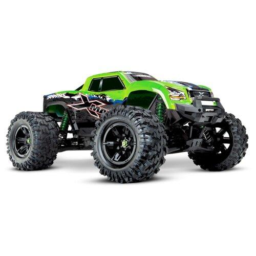 Купить Монстр-трак Traxxas X-Maxx 4x4 8S TSM (77086-4) 1:5 75.8 см зеленый, Радиоуправляемые игрушки