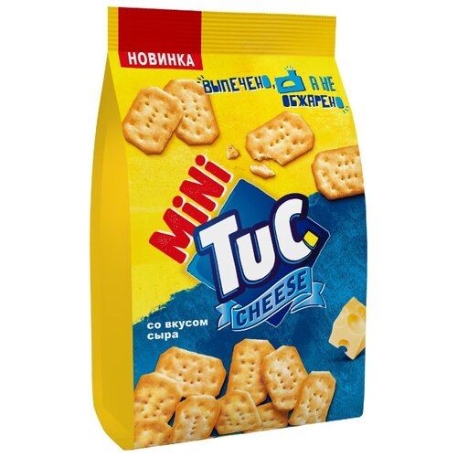 Крекеры TUC Mini Сыр, 100 г