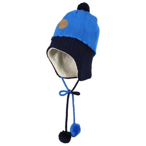 Шапка Huppa размер S, темно-синий/синий куртка huppa isla 17820020 размер 116 73320 white pattern gray