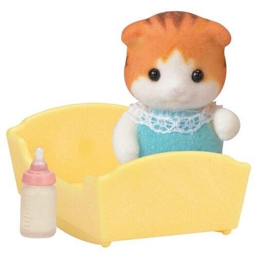 Купить Игровой набор Sylvanian Families Малыш Рыженький котенок 5291, Игровые наборы и фигурки