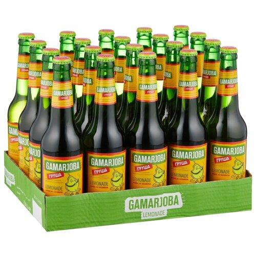 Газированный напиток Gamarjoba Груша, 0.5 л, 20 шт.