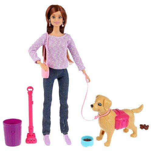 Фото - Кукла Карапуз София с собакой, 29 см, 99123-19-S-AN кукла карапуз софия повар 29 см