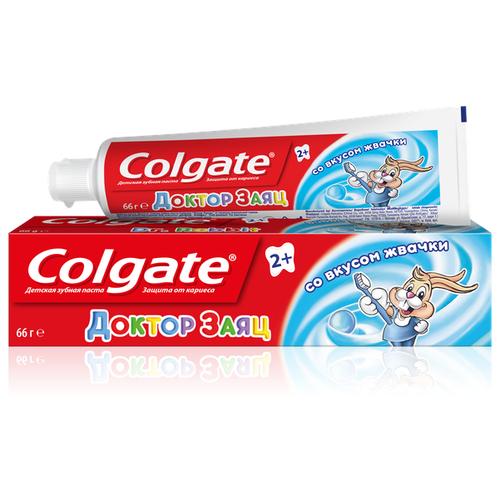Зубная паста Colgate Доктор Заяц со вкусом жвачки 2+, 50 мл