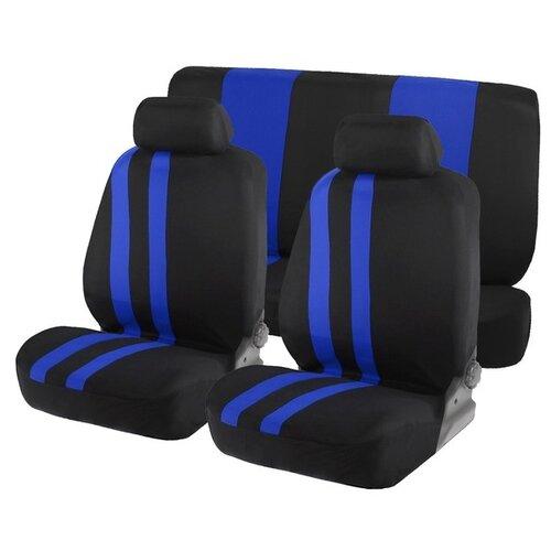 Комплект чехлов Torso Premium AV-9/AV-10/AV-11 черный/синий