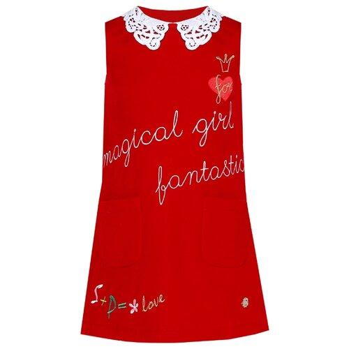 Платье Stefania Pinyagina размер 128, красный цена 2017