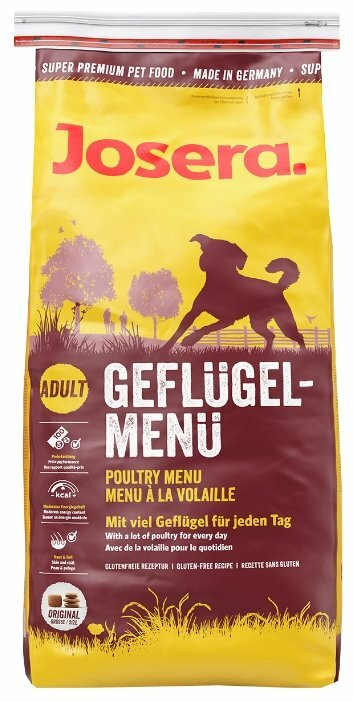 Корм для собак Josera Geflugel-Menu (15 кг)