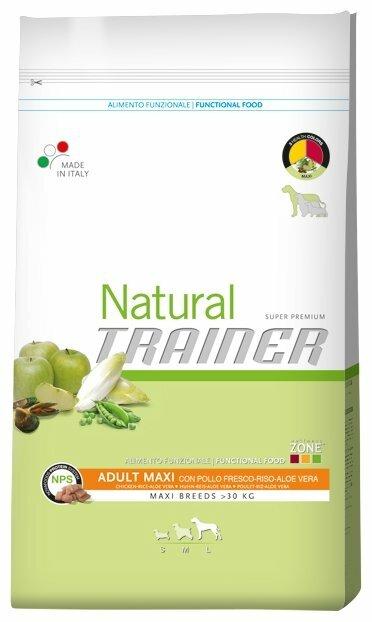 Корм для собак TRAINER Natural Adult Maxi Chicken and rice dry (12.5 кг)