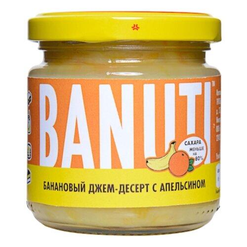 Фруктовый десерт BANUTI банан с апельсином, банка 200 г