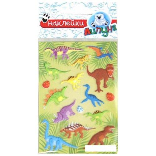 Купить Зефирные наклейки Динозавры , Липуня, Наклейки