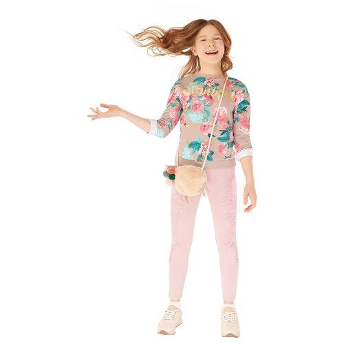 Купить Джегинсы INFUNT размер 140, светло-розовый, Джинсы