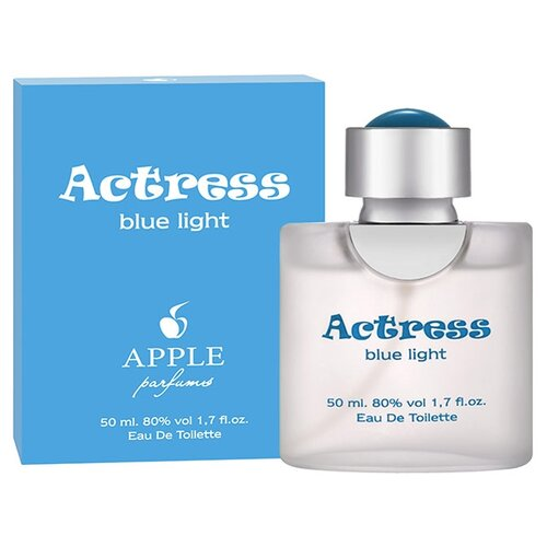 Туалетная вода Apple Parfums Actress Blue Light, 50 мл apple parfums b 52 туалетная вода 80 мл
