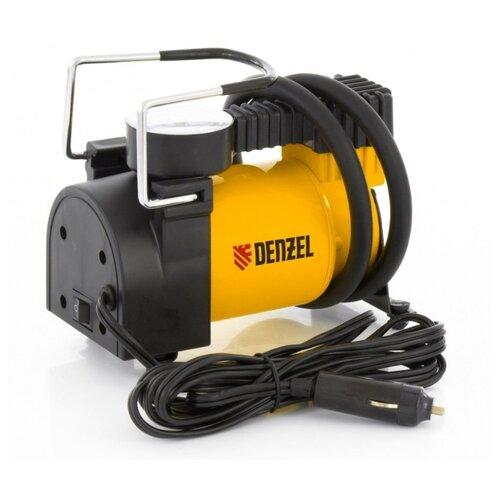 Автомобильный компрессор Denzel DС-20 желтый/черный фото