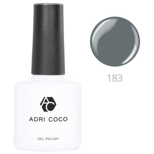Купить Гель-лак для ногтей ADRICOCO Gel Polish, 8 мл, 183 серо-зеленый