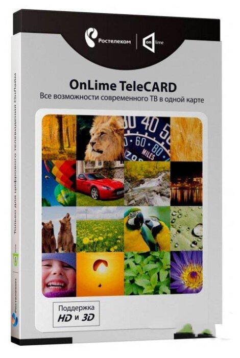 Купить Комплект цифрового телевидения Ростелеком OnLime TeleCard по низкой цене с доставкой из Яндекс.Маркета (бывший Беру)