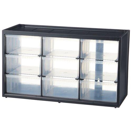 Органайзер STANLEY 1-93-978 36.5x15.5x21.3 см черный органайзер stanley 9 отделений пластмассовый 1 93 978
