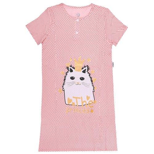 Купить Сорочка RuZ Kids размер 122-128, персиковый, Домашняя одежда
