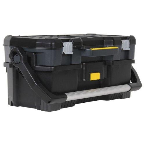 Ящик с органайзером STANLEY 1-97-506 67x32.3x28.3 см черный ящик stanley 1 97 514 со съемным органайзером 24 67x32 3x25 1см