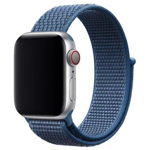 Фото - Devia Ремешок Series Sport 3 для Apple Watch 38/40mm голубой ремешок devia elegant series milanese loop для apple watch 4 44mm silver