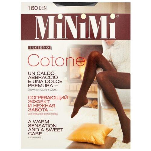 Колготки MiNiMi Cotone 160 den, размер 7-XXXL, nero (черный) колготки minimi cotone 250 den размер 4 l nero черный