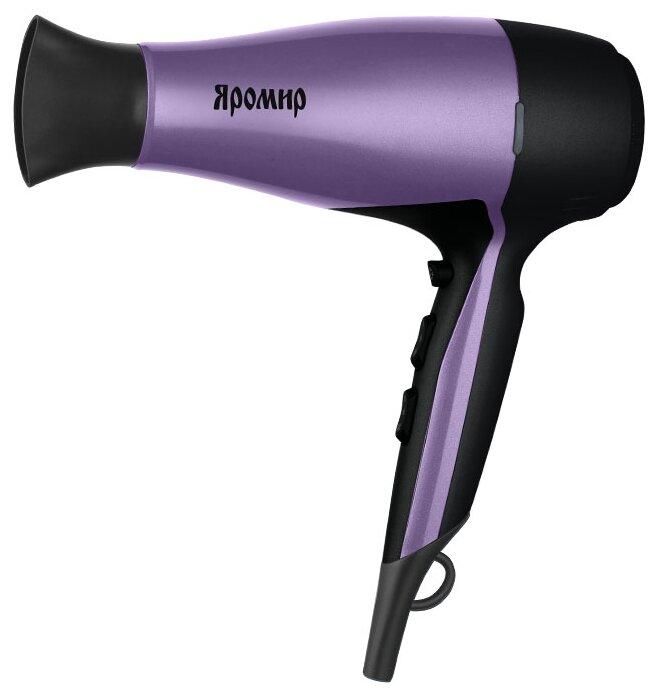 Купить Фен Яромир ЯР-253 фиолетовый/черный по низкой цене с доставкой из Яндекс.Маркета (бывший Беру)