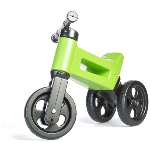 Купить Беговел FUNNY WHEELS Rider Classic, racing green, Беговелы