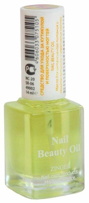 Масло ZINGER Professional Витаминный коктейль для ногтей SR-06 (NC20)