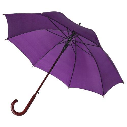 Фото - Зонт-трость полуавтомат Unit Standard (393) фиолетовый зонт трость полуавтомат три слона 1100 бордовый