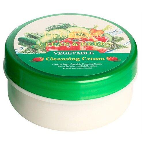 Deoproce крем очищающий для лица Premium с экстрактом овощей, 300 мл себолосьон очищающий premium цена