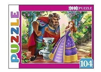Пазл Рыжий кот Artpuzzle Красавица и Чудовище (ПА-4536), 104 дет.