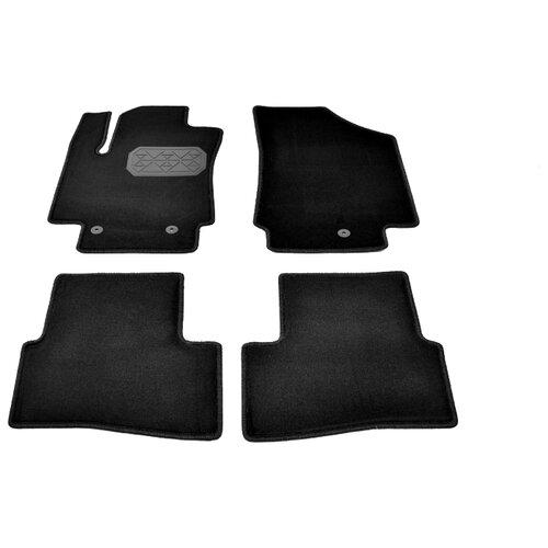 Комплект ковриков NorPlast NPA10-VTe310-050 4 шт. черный