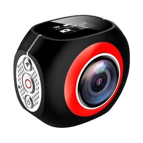 Фото - Экшн-камера EKEN Pano360 Pro черный/красный/серебристый аксессуар крепление на голову eken gp23 для gopro hero eken