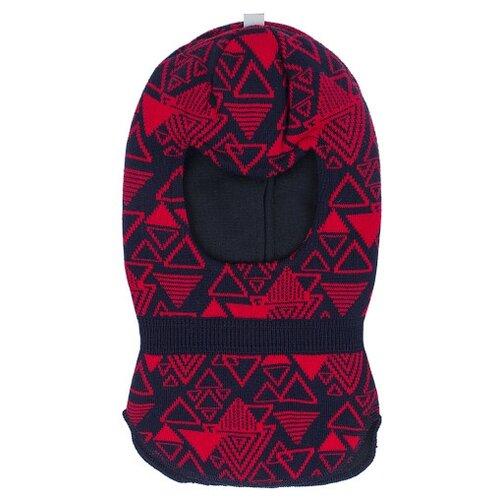 Купить Шапка-шлем Prikinder размер 46-48, темно-синий/красный, Головные уборы