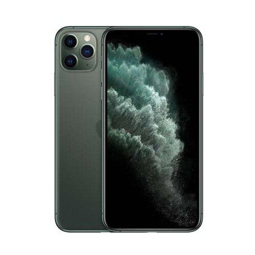 Смартфон Apple iPhone 11 Pro Max 256GB темно-зеленый (MWHM2RU/A) смартфон apple iphone 11 pro 256gb тёмно зелёный