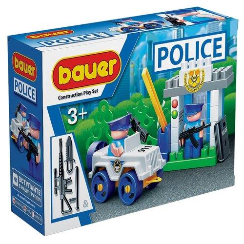 Купить Конструктор Bauer Полиция 628-48 КПП, Конструкторы